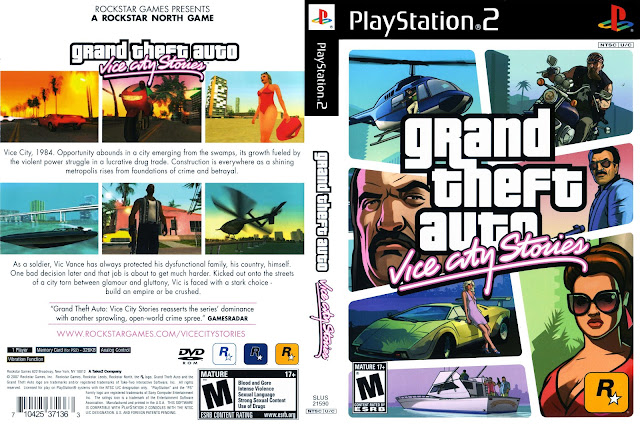 Capa GTA Vice City Stories PS2