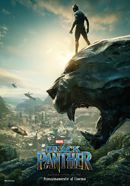 Black Panther Marvel Poster