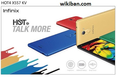 leaked specs of infinix hot 4 x557
