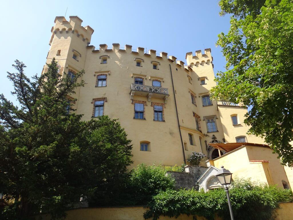 Castelo de Hohenschwangau em Fussen