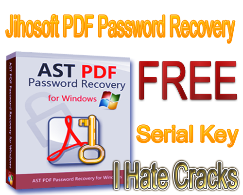 Jihosoft PDF Password Recovery(Windows) With Serial Key Free Download