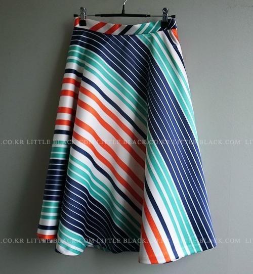 Empire Midi Skirt