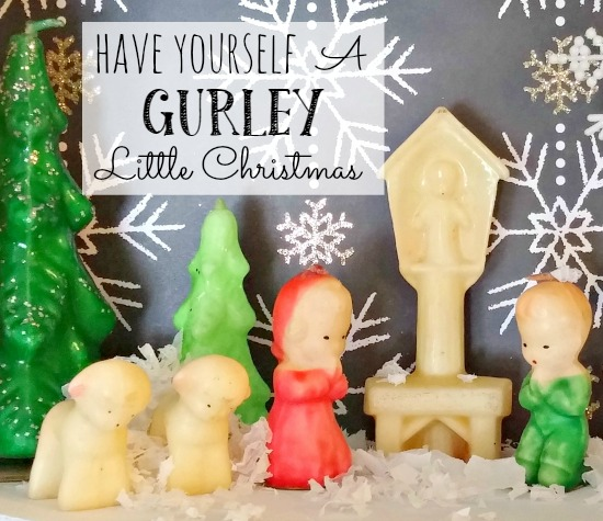 Christmas Gurley candle collection