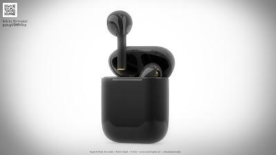 AirPods 2 sẽ lột xác với vỏ màu đen và phủ một lớp sơn mới hoàn toàn, giá 159 USD