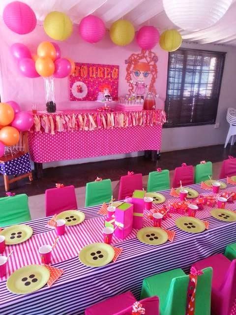 Fiesta Temática con las Muñecas Lalaloopsy - Preciosa ! | Fiestas ...