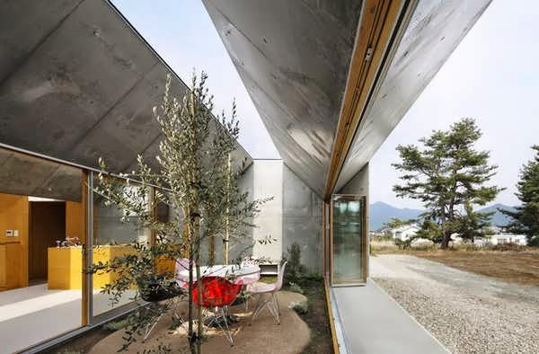 Japanese great outdoor living house plan in an inside out way nature indoors