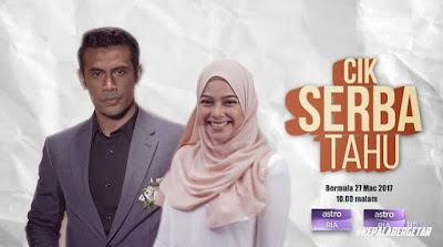 Sinopsis Drama Cik Serba Tahu Lakonan Sari Yanti di Astro