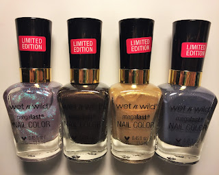 wet n wild megalast nail color r-u-free-2 dance? ninja lovelace studio glitter & gold i dream of jean genie