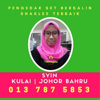 Pengedar Set Bersalin Shaklee Terbaik, Pengedar Set Bersalin Shaklee Terbaik Kulai, Senai, Johor Bahru, Singapura