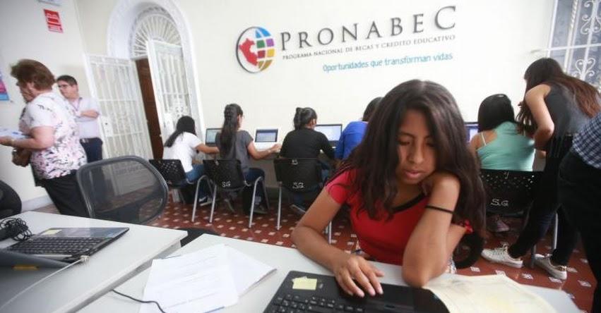 PRONABEC otorgará 50 mil becas para estudios superiores - www.pronabec.gob.pe