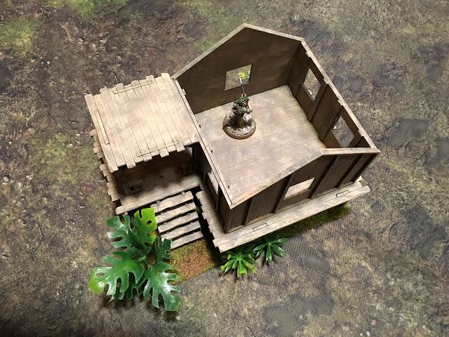 Sarissa Planked House K002