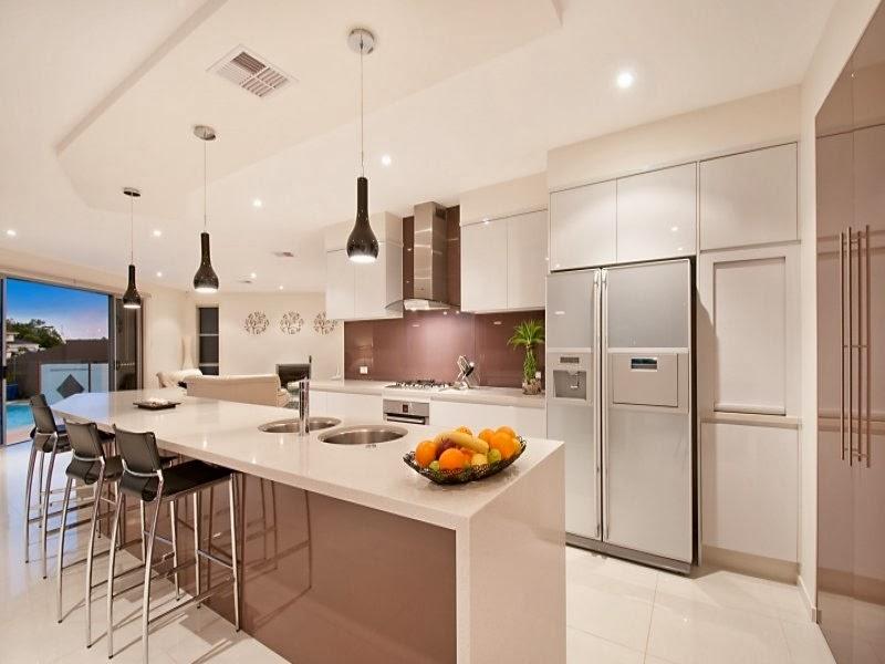 Hogares frescos 10 dise os de cocinas fabulosas muebles for Ideas para cocinas integrales