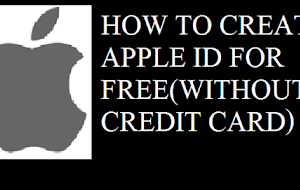 How to create an Apple ID For Free (without a credit card )