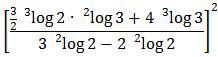 Bentuk lebih sederhana dari soal logaritma UN 2016