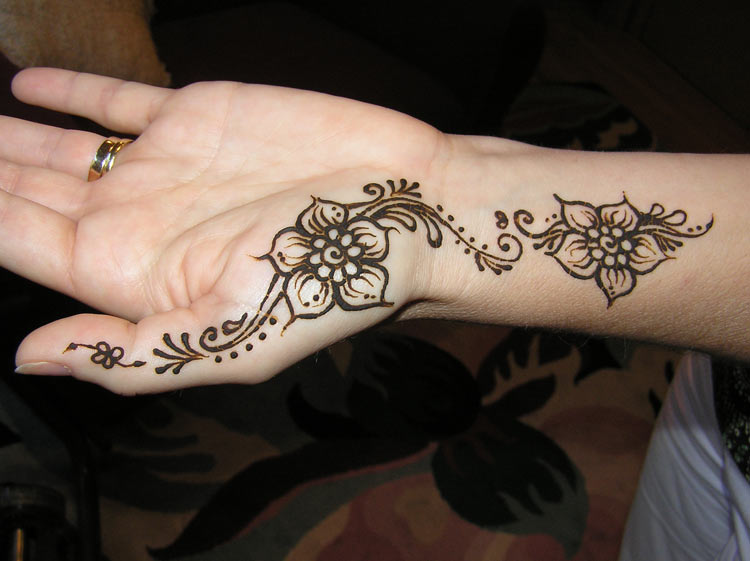 picture about Printable Henna Designs identified as Tattoo models totally free printable, how towards crank out henna programs, 3
