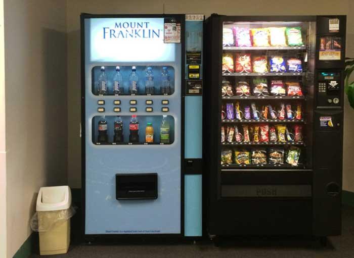 High schools have condom vending machines