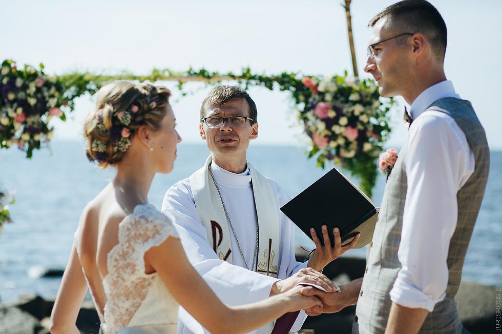 Ikšķiles Dzintars Laugalis, kāzu lūgšana