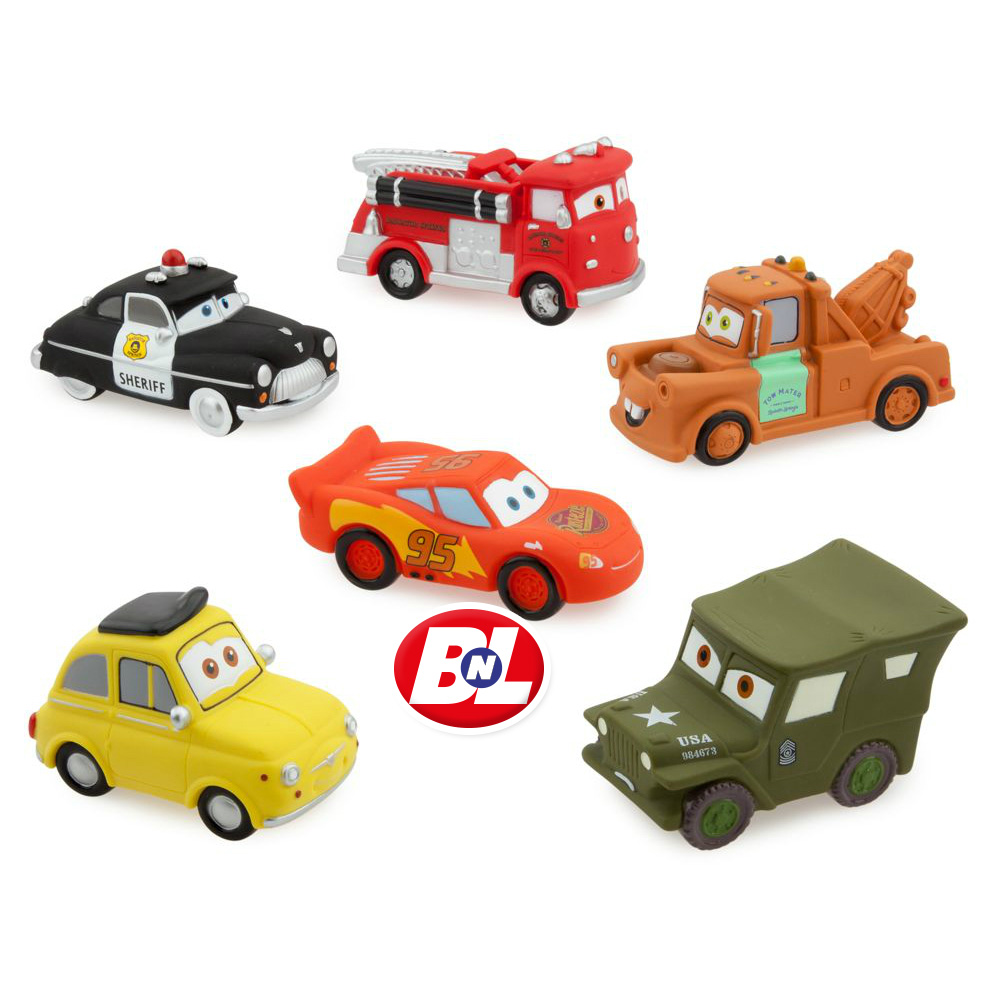 WELCOME ON BUY N LARGE: Cars: Squeeze Toy Set