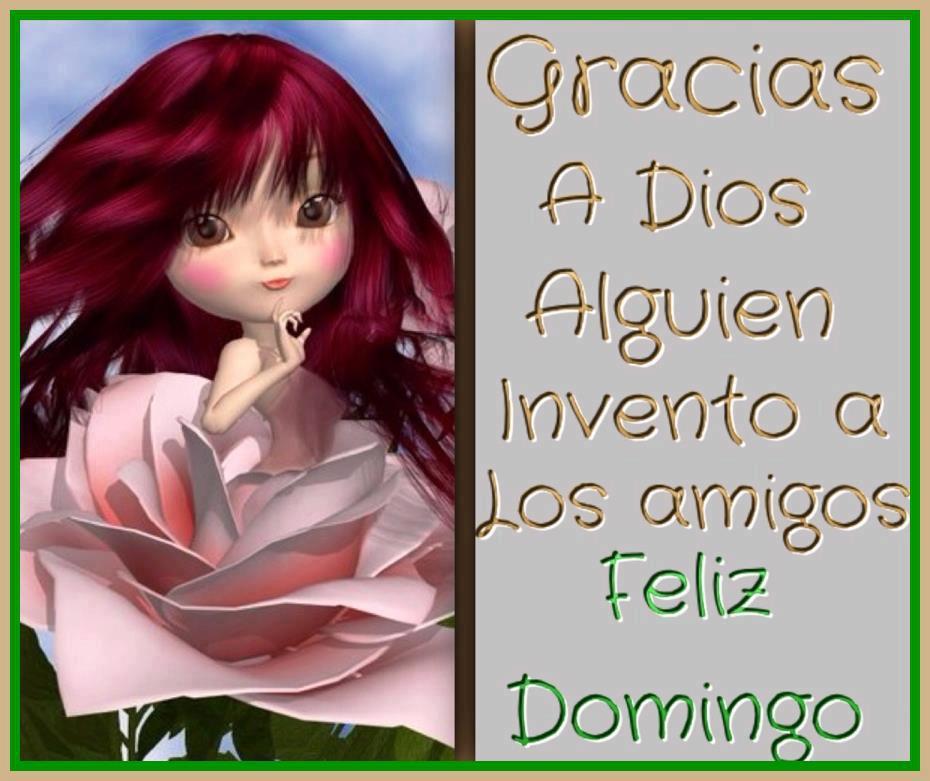 amigos Feliz Domingo