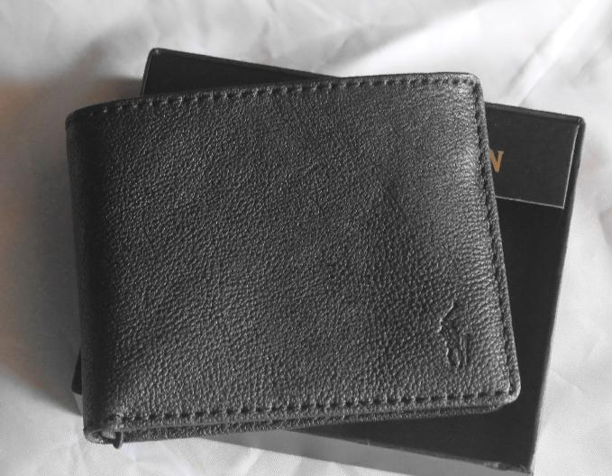 Boutique Malaysia Polo Ralph Lauren Pebbled Leather Mens