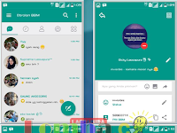 BBM Mod Teal Grey Theme Reborn by Dicky v3.2.0.6 Apk