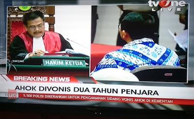 Mengenal Sosok Ketua Majelis Hakim Dwiarso Yang Memvonis Ahok 2 Tahun Penjara