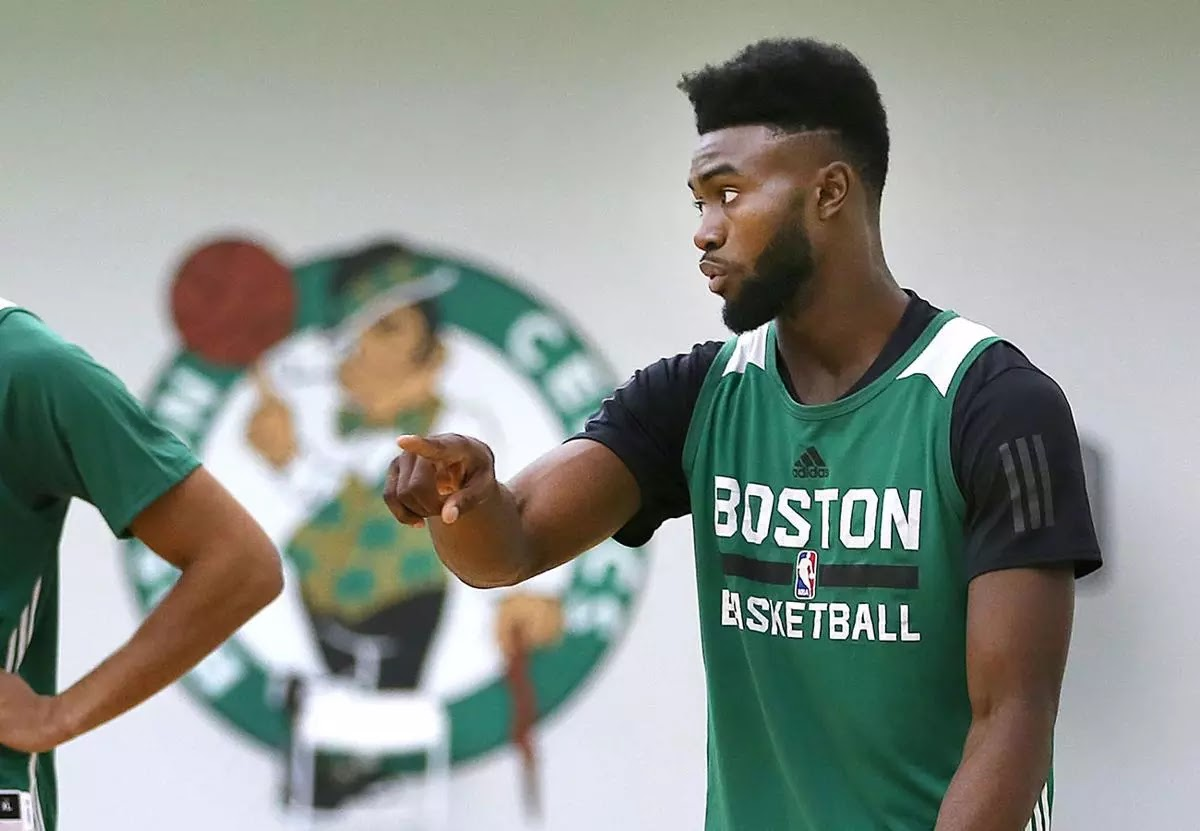 Jaylen Brown jokes about the shape of the Earth a35bd9660