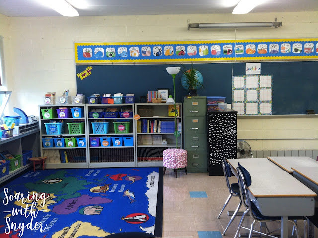 Classroom Library and Meeting Area