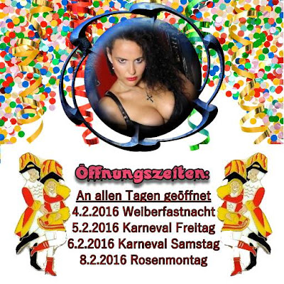 Öffnungszeiten Karneval 2016