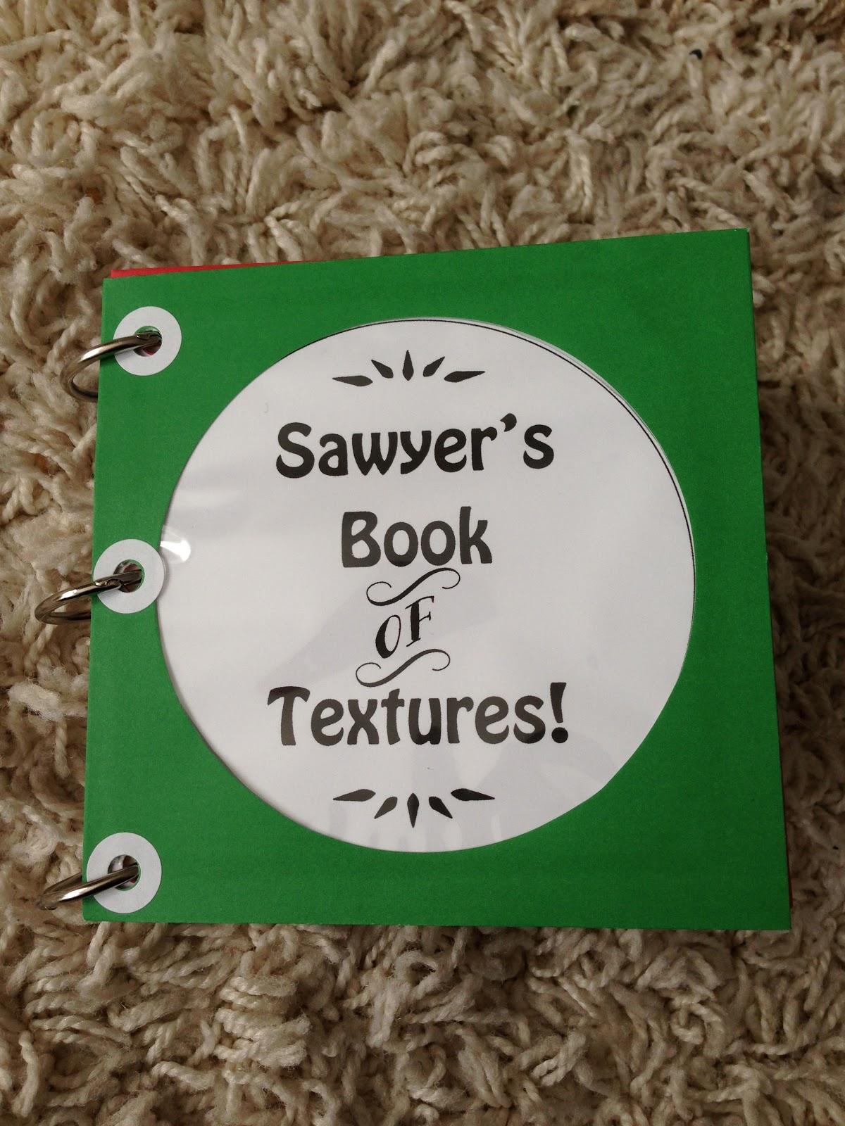 How Sweet It Is Diy Book Of Textures Sensory Book