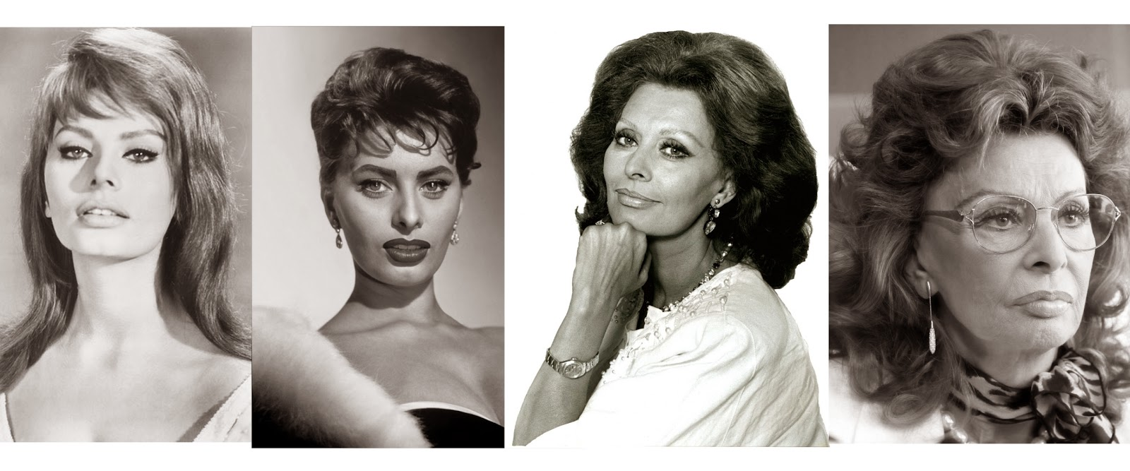Sophia Loren Through Decades