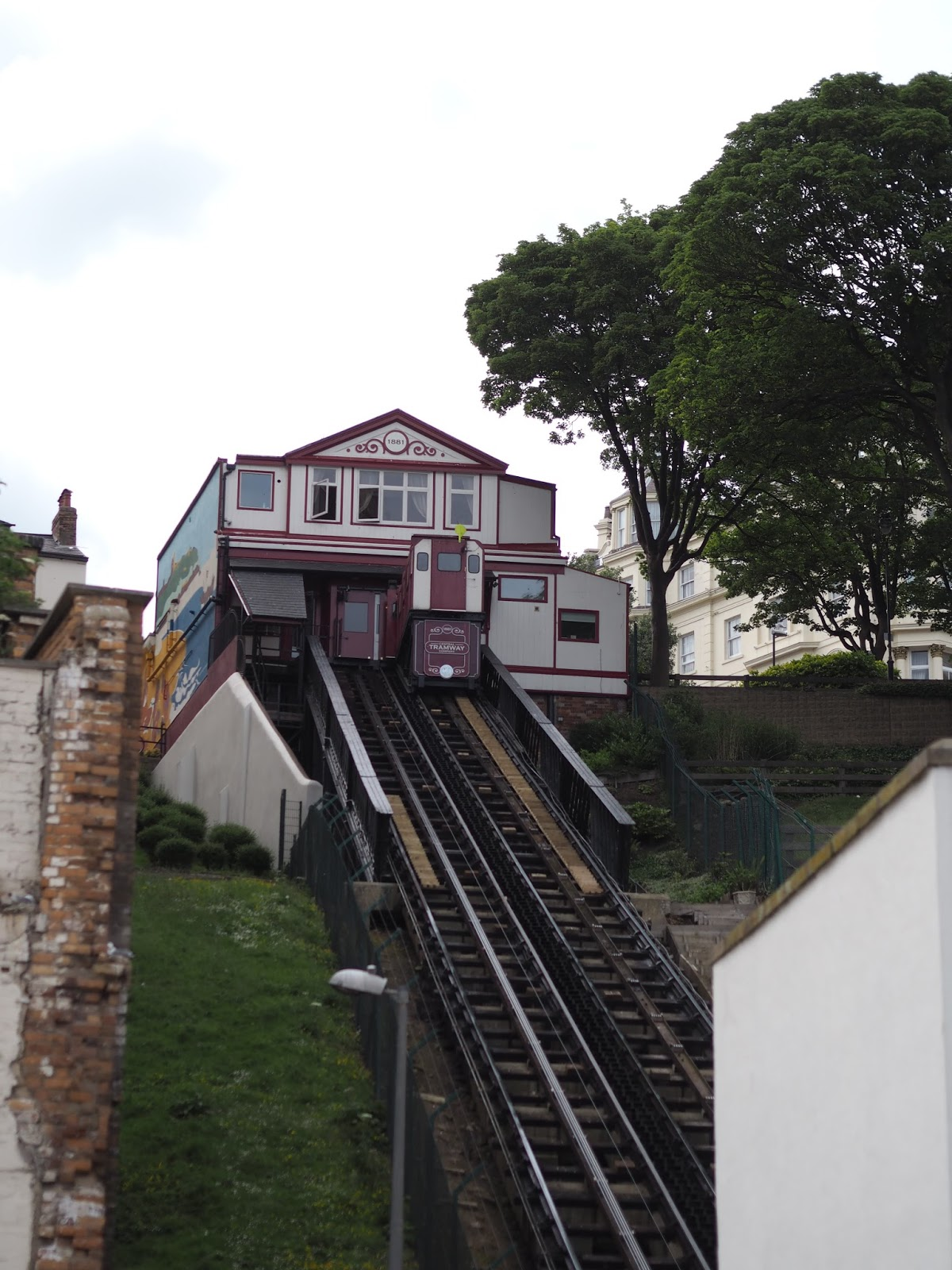 Victorian funicular, South Bay, Scarborough