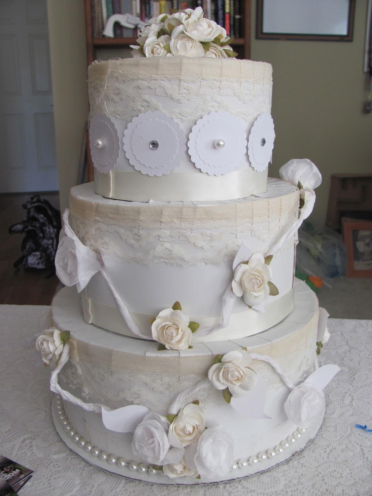Royalbashblog Cardboard Wedding Cake Gift Box