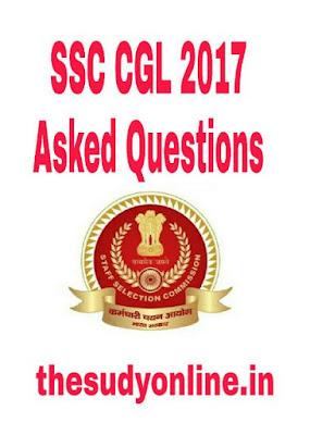Ssc cgl 2018, RRB, General Awareness