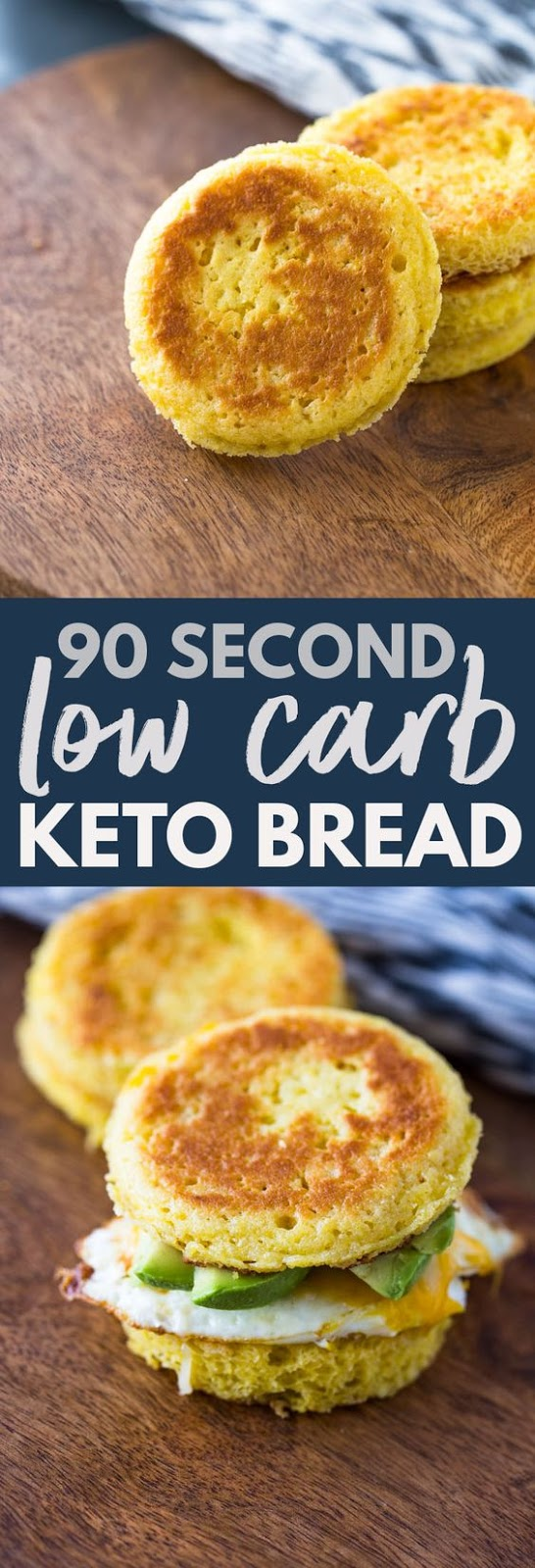 90 Second Low Carb Keto Bread