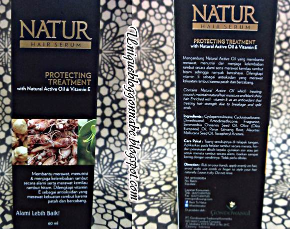 Natur Hair Serum Protecting Treatment Review 3