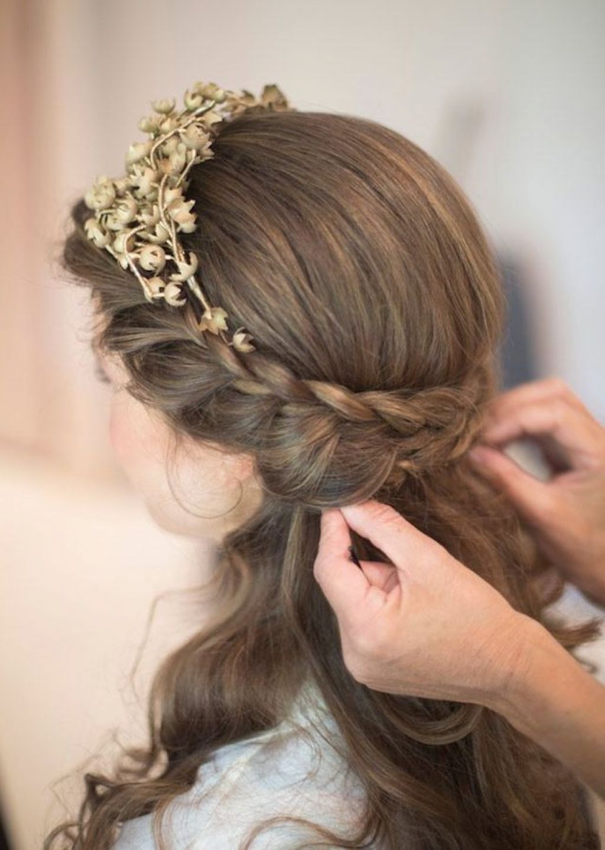 mekuteku: Wedding Hairstyles For Medium Length Hair Half