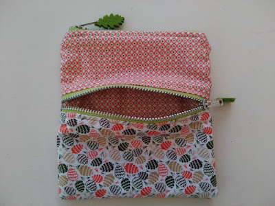 costura, couture, sewing, bolsa dos cremalleras, two zipper pouch, necessaire deux fermetures