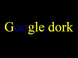 google dork 2018