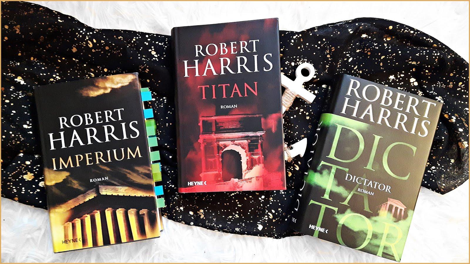 Cicero Trilogie Robert Harris Imperium Titan Dictator Heyne
