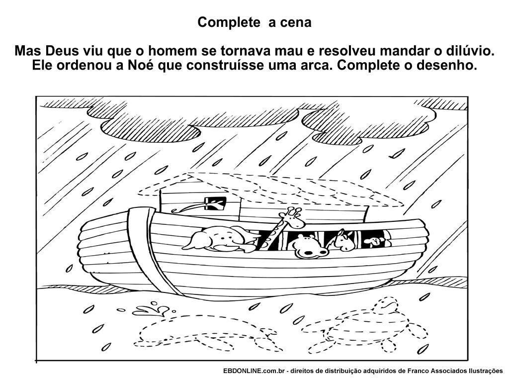 Arca De Nóe Para Colorir: RITA & FRANK: Colorir E Pintar Arca De Noé (Desenhos Bíblicos
