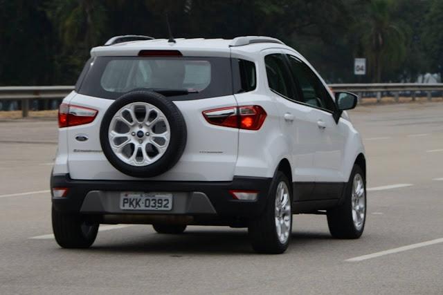 Novo Ford EcoSport 2018 - Branco