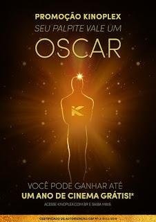 Promoção Palpite do Oscar Kinoplex 2019