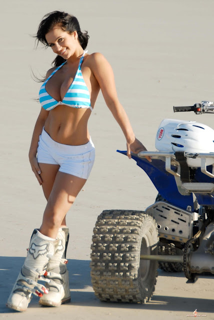 Denise Milani ATV hot and sexy Photoshoot picture 11