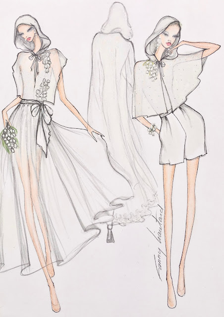 fanny liautard collection capes de mariage paris