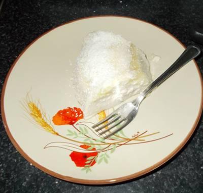 manjar light de coco com queijo