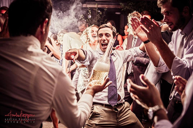 balli e ospiti al matrimonio Agueta du Sciria Arenzano