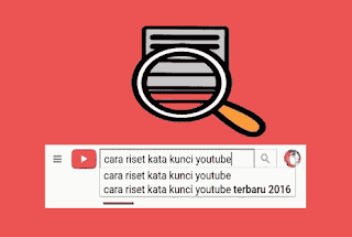 Cara riset keyword atau kata kunci video youtube