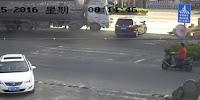 camión los aplastara