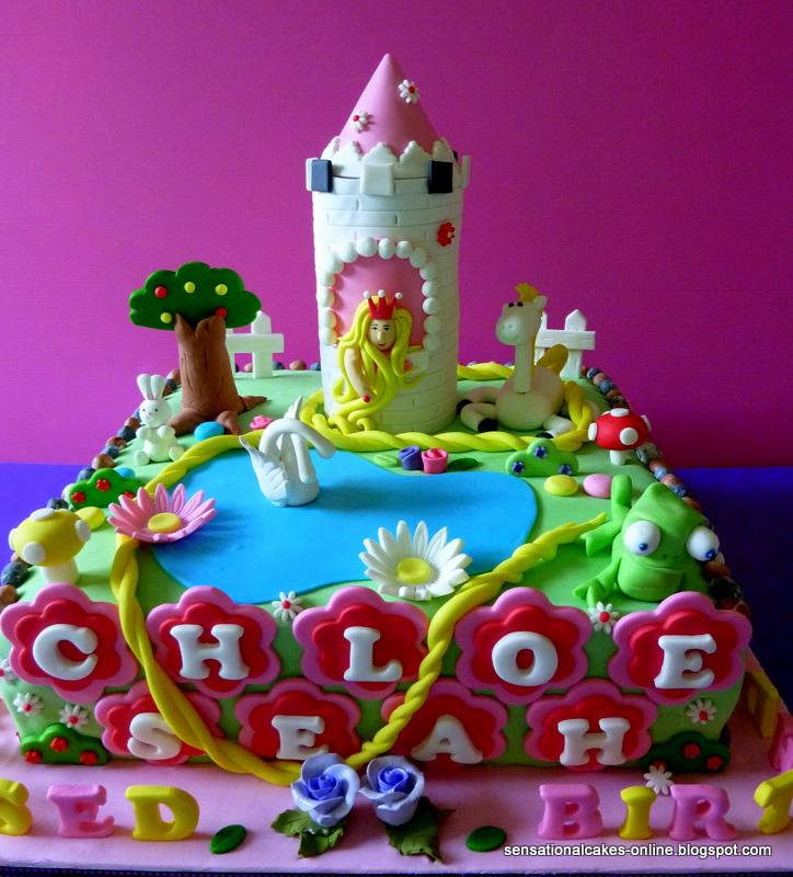 Rapunzel Birthday Cake Singapore
